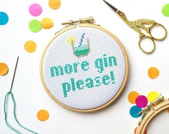 Funny cross stitch kit, cross stitch kit, pattern, gifts for her, gift, craft gifts, easy cross stitch, craft kit, subversive cross stitch
