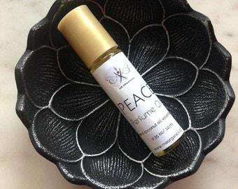 Ma Organics Perfume Oil Aromatherapy Peace Patchouli Lavender