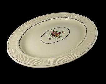 Platter, George Jones & Sons, Crescent Ivory, Antique, Rare, 100 years old, 16 inch platter, decorative platter