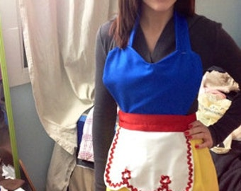 Snow White Vintage Inspired Apron