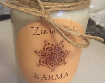 Zen in a Jar Soy Candle