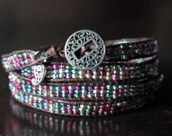4 wrap multicolor wrap bracelet