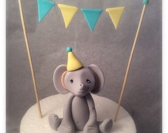 Elephant & Banner Toppers
