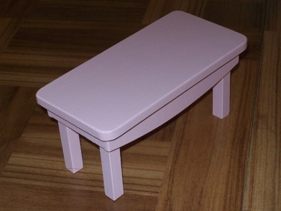Pink side table 1 6 scale table 1 6 scale coffee table 1 6 for 1 6 scale table