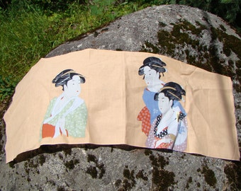 Japanese Wall Hanging 40 inches by 16 inches