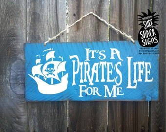 pirate, pirate sign, pirate decor, pirates of the caribbean, pirate decoration, pirates life for me, pirate wall decor, pirate wall art, 175