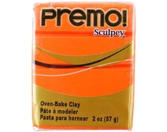 Sculpey Premo Polymer Clay Orange