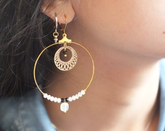 Loops IPSU / / Golden hoops
