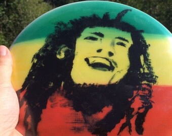 New Limited Edition Marley Discs, painted by Heather Callihan