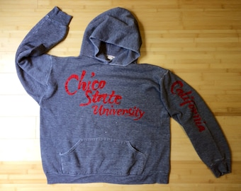 Chico State California super soft jersey hoodie