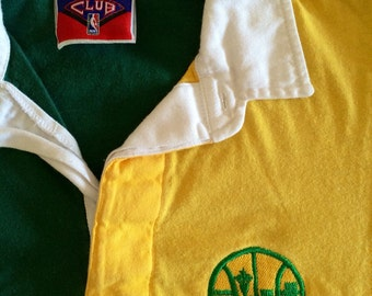 Seattle Supersonics long sleeve collared shirt