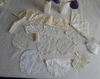 old lace appliques