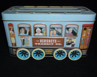 Hershey's Transit Company Vintage Tin Trolley