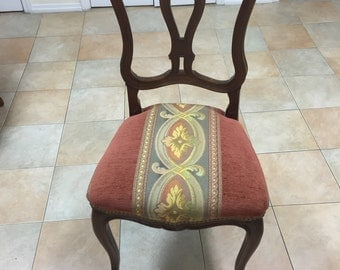 Antique French Louis XV Dining Side Chairs - Set of 6