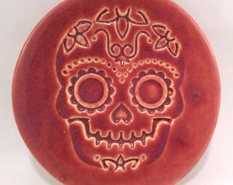 Fiesta Skull Large Coasters and Trivets