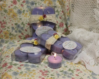 "The ""Lavender"" soy wax candles"