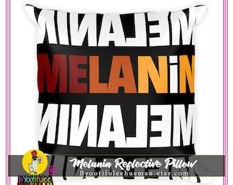 Melanin Reflective Pillow