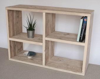 Shaun | Reclaimed Wood Bookcase | Handmade Bookcase | Bespoke Furniture | Display Unit | TV Stand |TV Unit | Bookcase