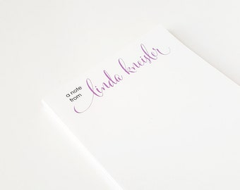 Personalized notepad | Custom notepad for her | Memo pad | From the desk of notepad | To do list – NP007