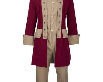 Adult Thomas Paine Colonial Gentlemen's Costume
