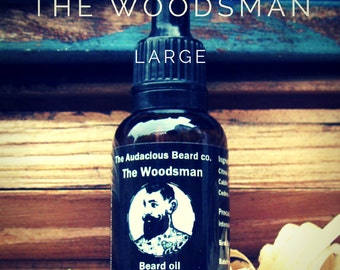 The Woodsman -Large beard oil - The Audacious Beard Co