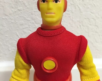 "Mego 8"" Iron Man Type 2 AF 100% Original WGSH ~ Near Mint ~"
