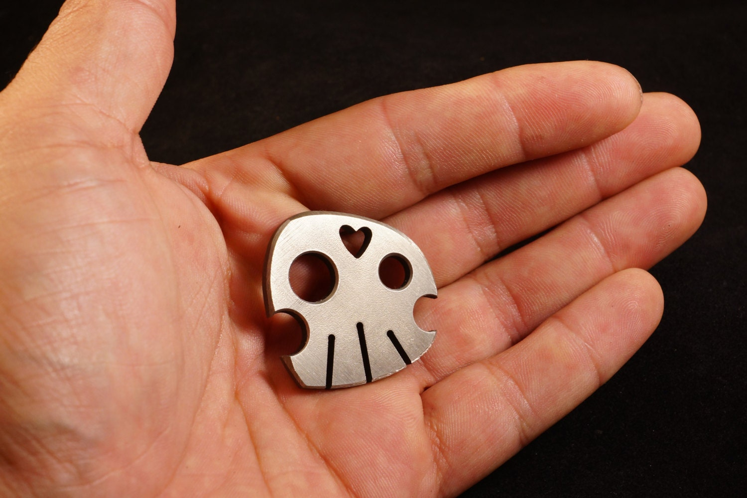 Large Titanium Coin, 'Carry the Skull'