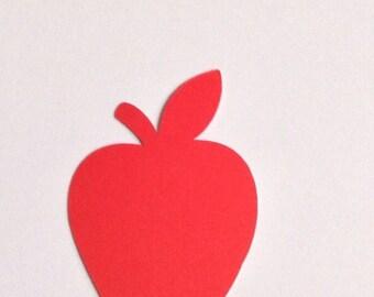 """2"""" Cardstock Apple Die Cuts"""