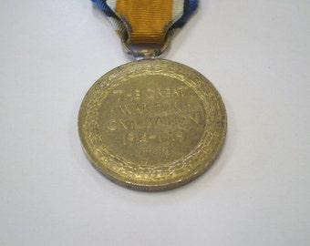 World War I Canada Victory Medal ~ Named