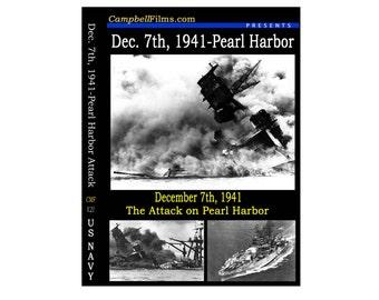 Dec. 7th, 1941 Attack on Pearl Harbor