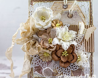 Shabby Chic Praying for You Sympathy/Get Well Card