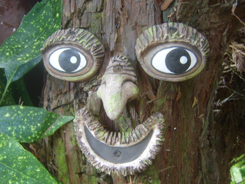 Tree Face A Handmade Garden Ornament Statue Sculpture A