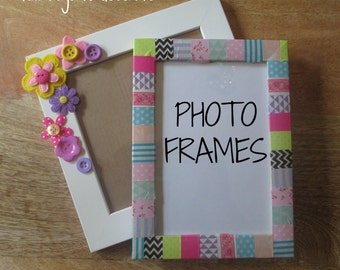 Photo Frames, DIY Party Craft, Party Supplies,