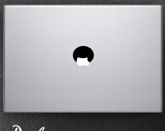 Afro / Macbook Decal / Macbook Sticker / Laptop Decal / Laptop Sticker / Car Decal / Window Decal / Wall Decal