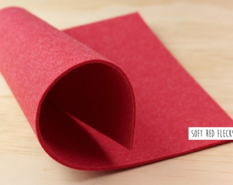 FELT_Red_3mm thick_20cm x 30cm