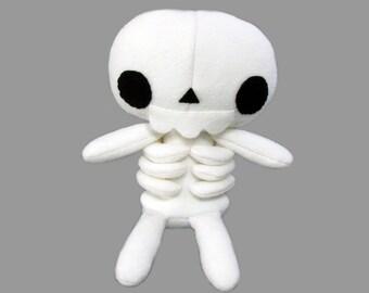 Plush Skeleton Stuffed Monster - PDF SEWING PATTERN
