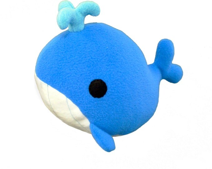 Plush Whale Sewing Pattern