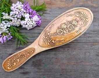 wooden hair brush, wooden hairbrush, wood hair comb, hairbrush, wooden comb, wooden combs for hair, wood comb, no static hair, hair care