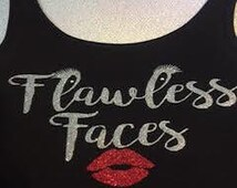 Flawless Faces Tank or V-neck by- Gerald & Grace Perez