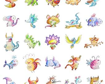 Custom Monster Print