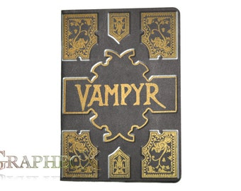Fan-made Vampyr Slayers Handbook Buffy the Vampire Slayer inspired personalized journal notebook