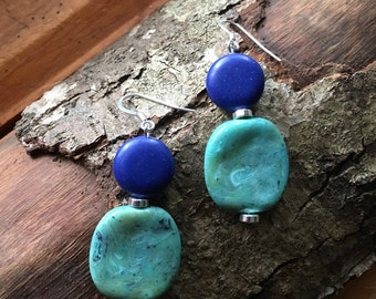 Blue/Turquoise Earrings