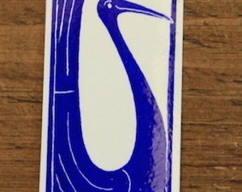 Hello Bird - large bookmark