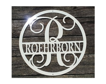 Personalized Custom Family Name Sign