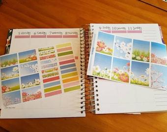 Spring 2 - Erin Condren Vertical or Erin Passlow Planner
