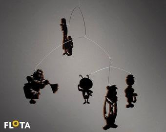 Beautiful Hanging Mobile - Hanna-Barbera - cartoons - Home Decor