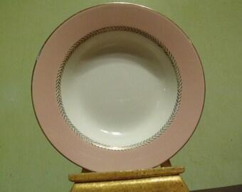 Vintage  Homer Laughlin, Soup Bowl, Pattern G3348