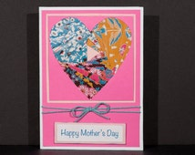 Mother's Day Card-Iris Fold Heart