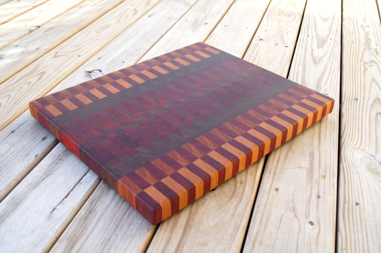 Extra Large Unique End Grain Cutting Board Extra Large Butcher
