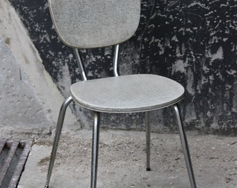 White chair leatherette / Holy10